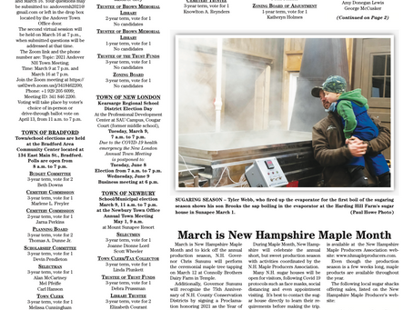 March 9, 2021 edition of the InterTown Record is now available online!