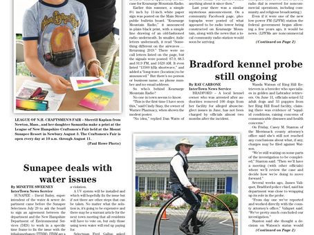 The August 6, 2019 edition of the InterTown Record is now available online!