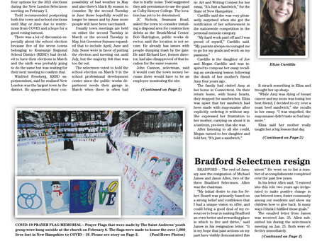 The February 9, 2021 edition of the InterTown Record is now available online!