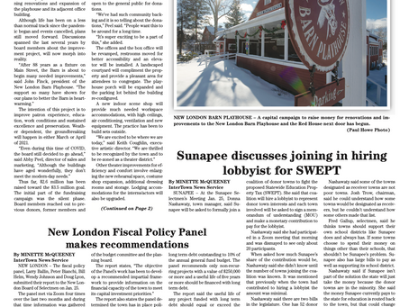 The February 2, 2021 edition of the InterTown Record is now available online!