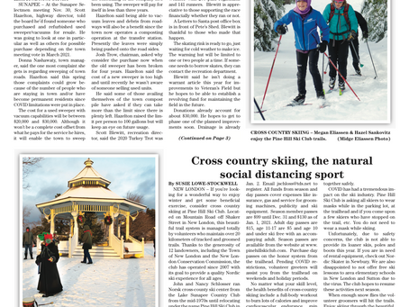 December 8, 2020 edition of the InterTown Record is now available online!