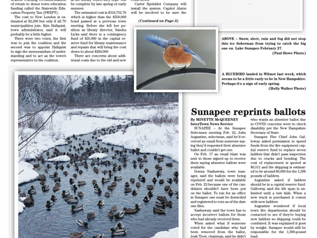 The March 2, 2021 edition of the InterTown Record is now available online!