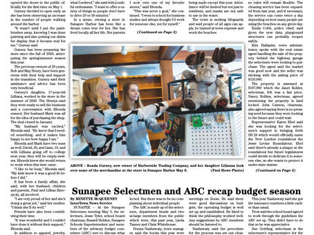 The May 11, 2021 edition of the InterTown Record is now available online!