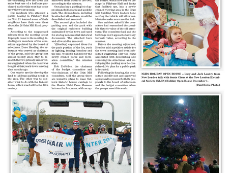 The December 3, 2019 edition of the InterTown Record is now available online!