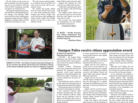 The August 31, 2021 edition of the InterTown Record is now available online!