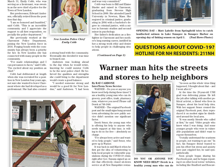 The April 7, 2020 edition of the InterTown Record is now available online!
