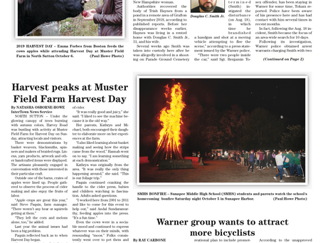 The October 8, 2019 edition of the InterTown Record is now available online!