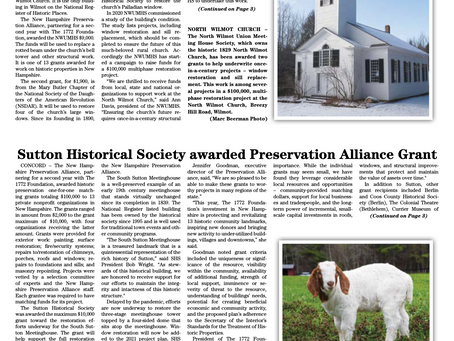 The May 18, 2021 edition of the InterTown Record is now available online!