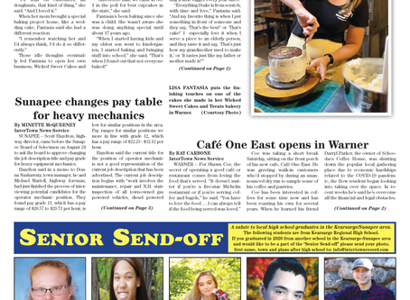 The September 1, 2020 edition of the InterTown Record is now available online!