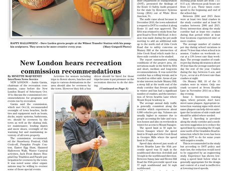 The October 27, 2020 edition of the InterTown Record is now available online!
