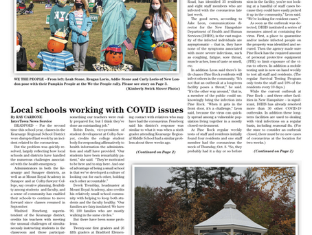 The October 20, 2020 edition of the InterTown Record is now available online!