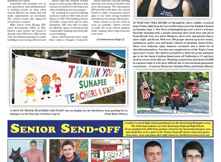 The September 8, 2020 edition of the InterTown Record is now available online!