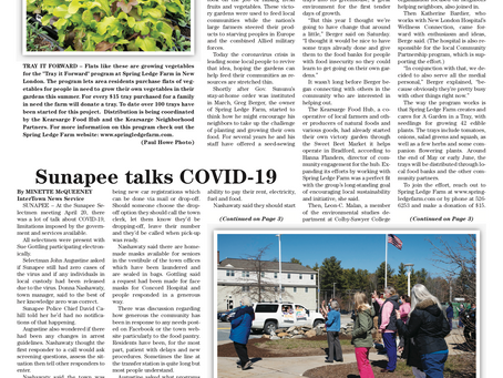 The April 28, 2020 edition of the InterTown Record is now available online!