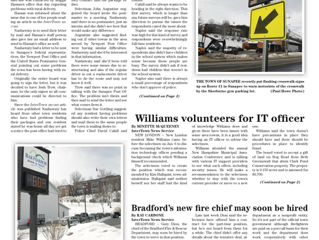 The January 14, 2020 edition of the InterTown Record is now available online!