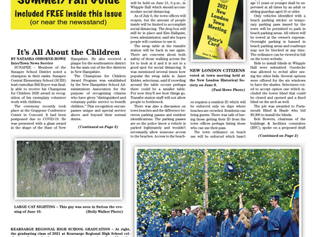 The June 15, 2021 edition of the InterTown Record is now available online!