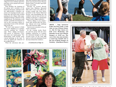 The July 30, 2019 edition of the InterTown Record is now available online!