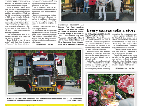 The June 22, 2021 edition of the InterTown Record is now available online!