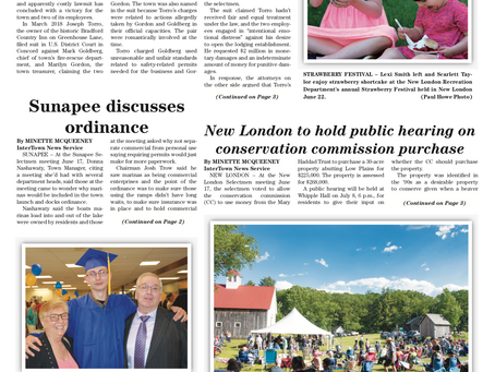 The June 25, 2019 edition of the InterTown Record is now available online!