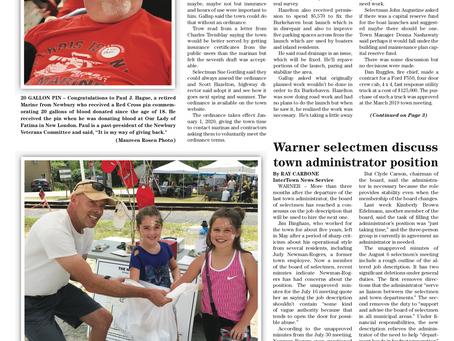 The August 20, 2019 edition of the InterTown Record is now available online!