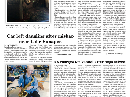 The October 22, 2019 edition of the InterTown Record is now available online!