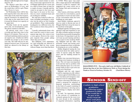 The November 3, 2020 edition of the InterTown Record is now available online!
