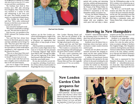 The September 7, 2021 edition of the InterTown Record is now available online!