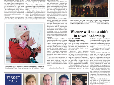 The February 11, 2020 edition of the InterTown Record is now available online!