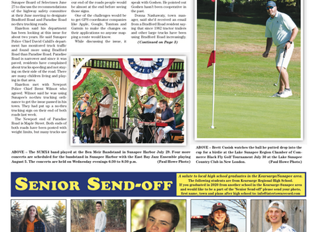 The August 4, 2020 edition of the InterTown Record is now available online!