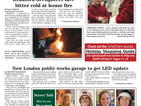 The December 24, 2019 edition of the InterTown Record is now available online!