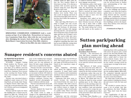 The October 1, 2019 edition of the InterTown Record is now available online!