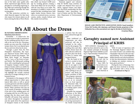 The July 27, 2021 edition of the InterTown Record is now available online!