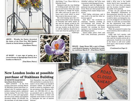 The March 30, 2021 edition of the InterTown Record is now available online!