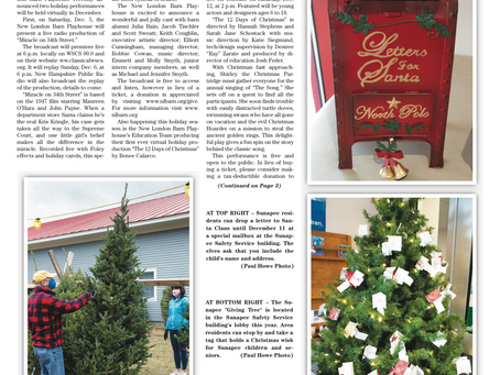 The December 1, 2020 edition of the InterTown Record is now available online!