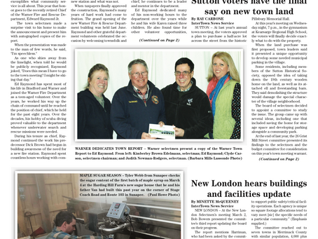 The March 10, 2020 edition of the InterTown Record is now available online!