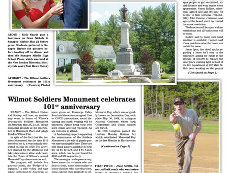 The May 25, 2021 edition of the InterTown Record is now available online!