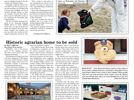 The April 14, 2020 edition of the InterTown Record is now available online!