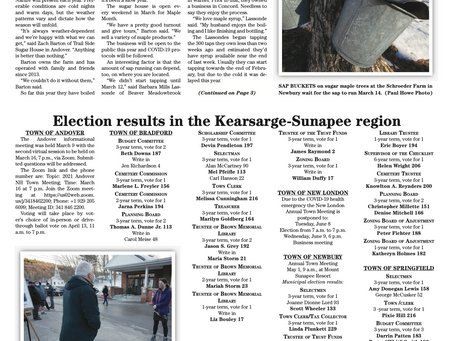 The March 23, 2021 edition of the InterTown Record is now available online!