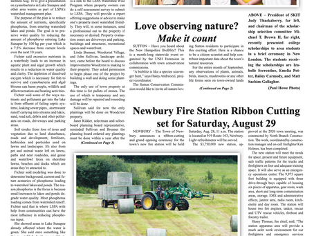 The August 24, 2021 edition of the InterTown Record is now available online!