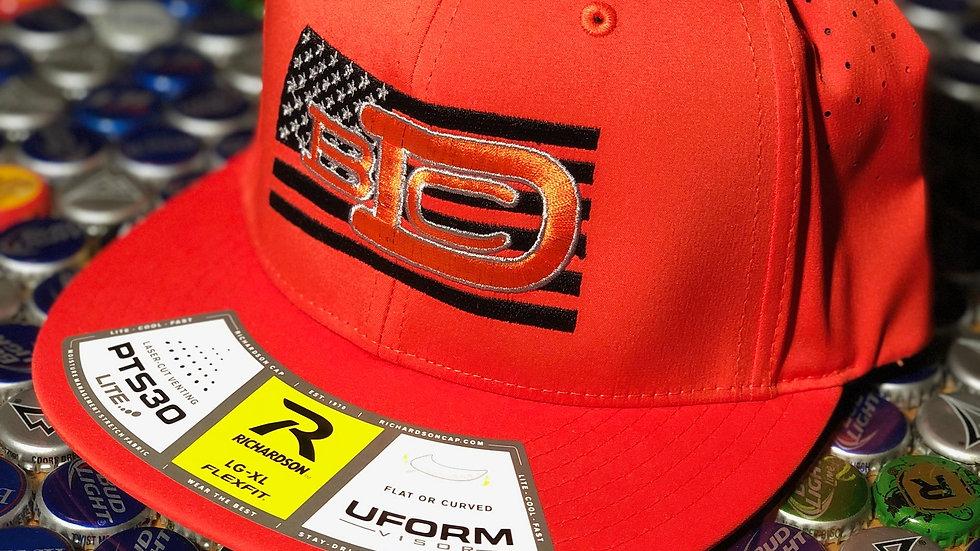 The Sporty American - Orange