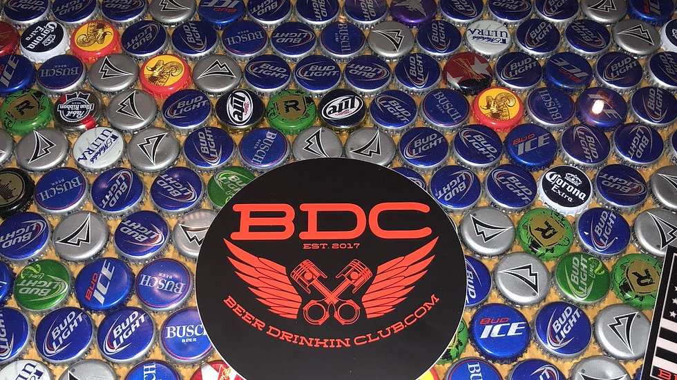 BDC Piston Sticker