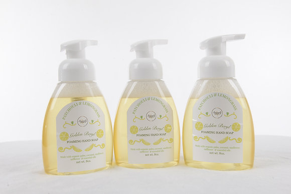 Golden Beryl Foamimg Hand Soap