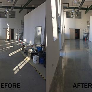 Sörfőzde padlójának pormentesítése C2™ technológiával   200 m2
