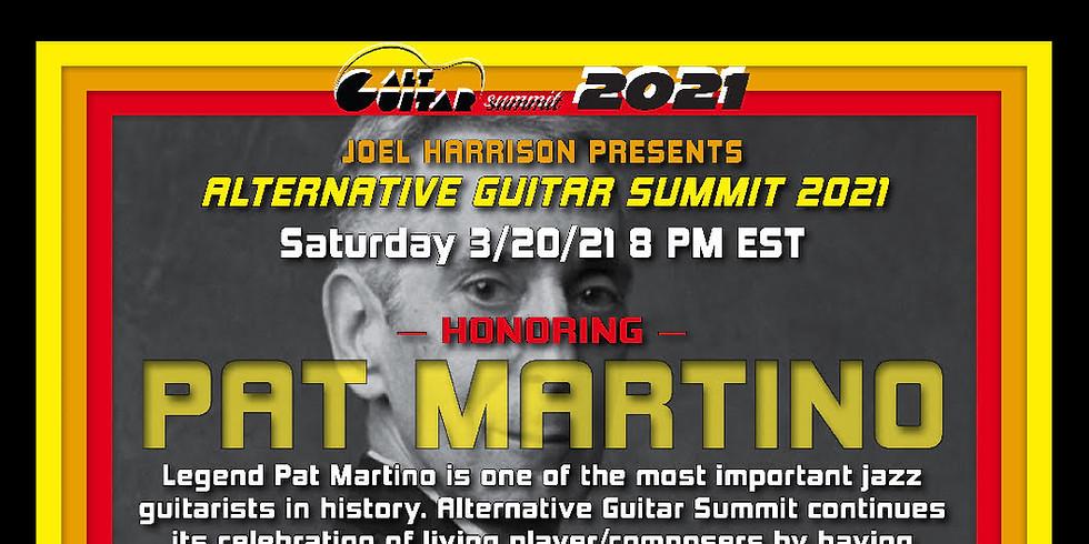 Alternative Guitar Summit: Honorong Pat Martino