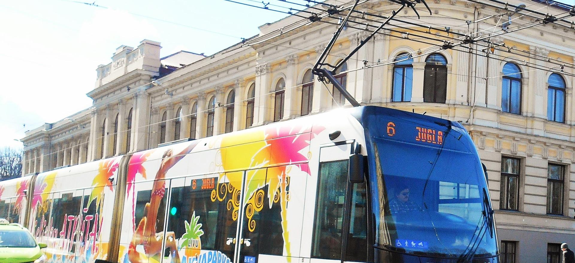 Riga's tram voice, April 2017