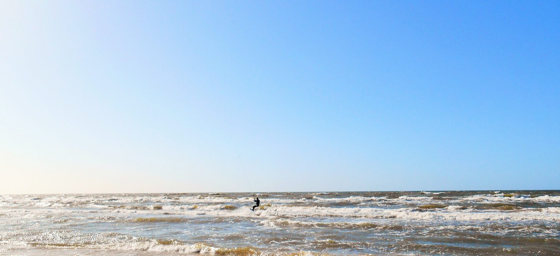 Kitesurfing song, Ventspils, March 2017