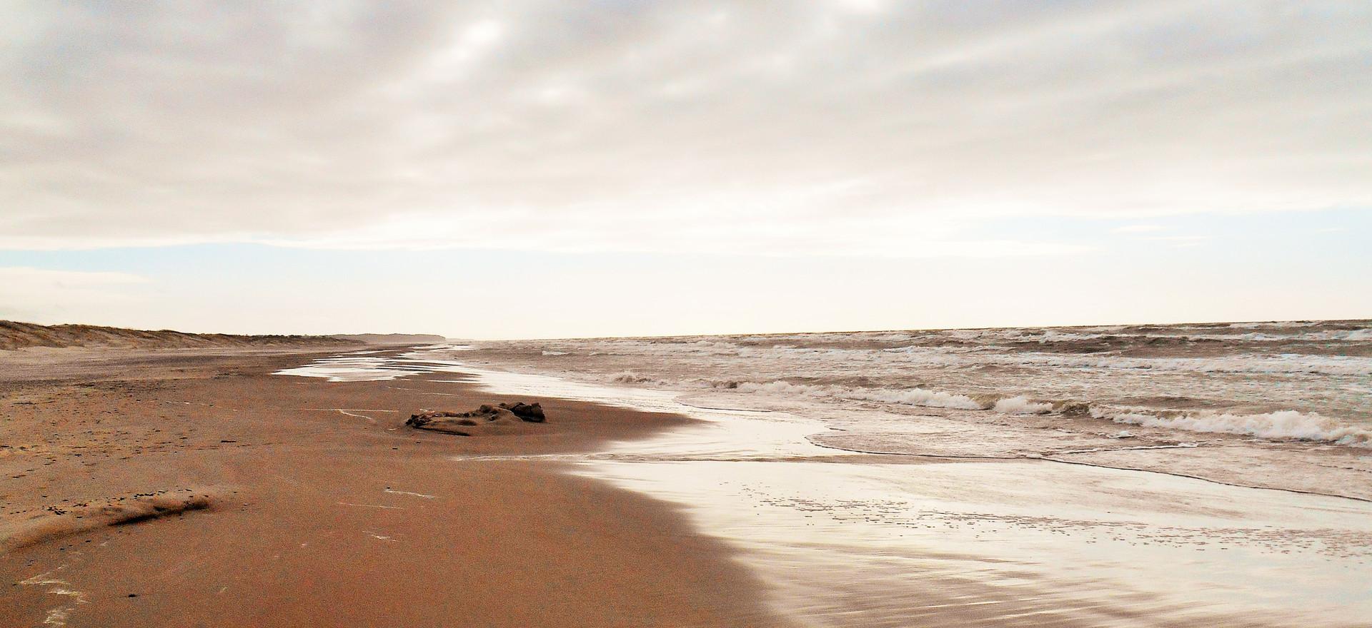 Salt praying coast, Ventspils, March 2017