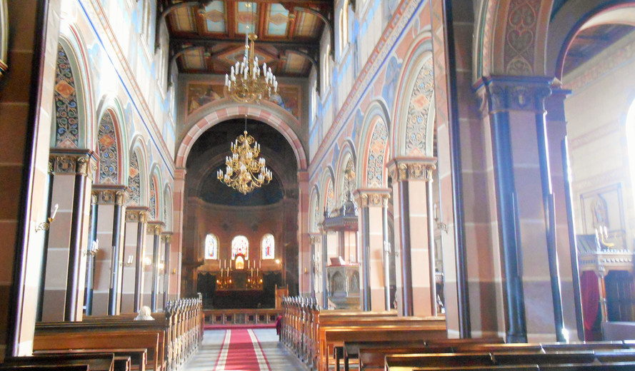 Silence in The St. Joseph's Cathedral, Liepaja, March 2017