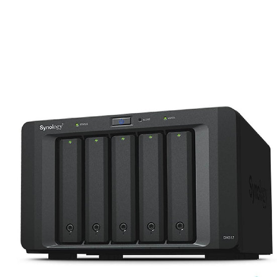 Synology 5-bay SATA expansion unit for NVR1218, DS1517, DS1817, DS718+, DS918+,