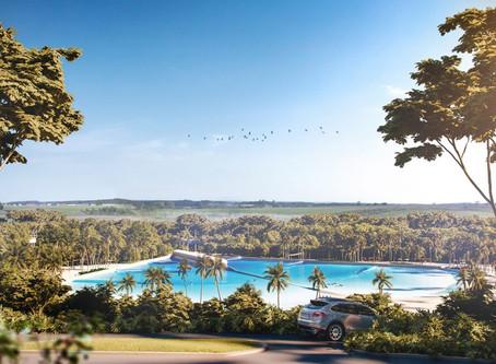 Piscina de ondas artificiais perfeitas será construída no Brasil em Junho de 2019