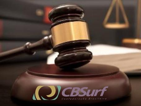 Eleições para presidência da CBSurf suspensas por decisão judicial
